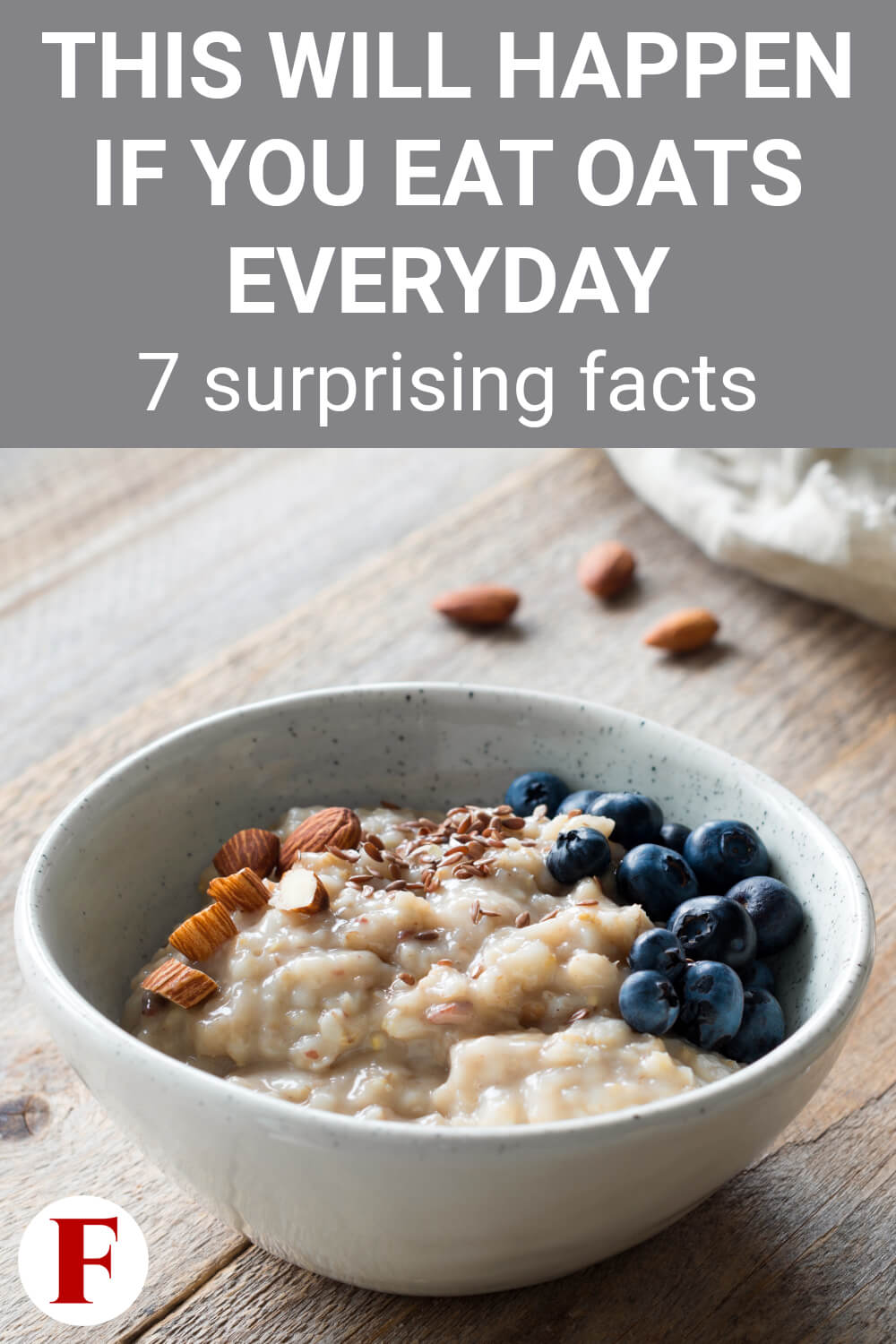 Oats are healthy and good for you