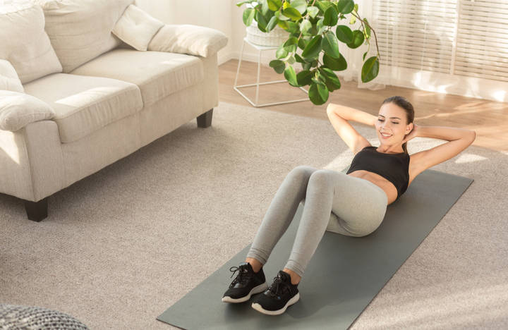 Sit-ups for toned abs